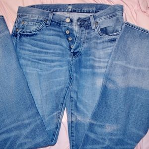 7 FOR ALL MANKIND Button Up Standard Jeans